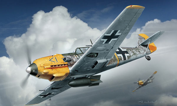 avion Dragon Messerschmitt Bf109E-4/B
