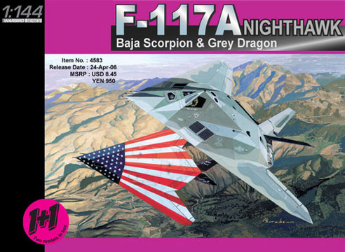 avion Dragon F-117A Nighthawk