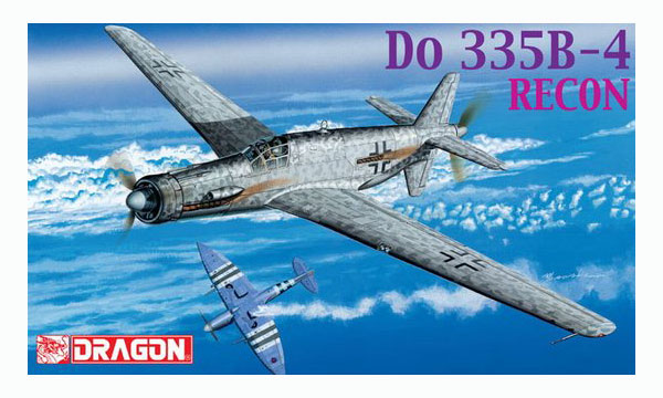 avion Dragon Dornier Do335D-4 Pfeil
