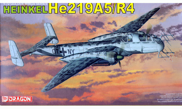 avion Dragon Heinkel He219A/R4 Uhu