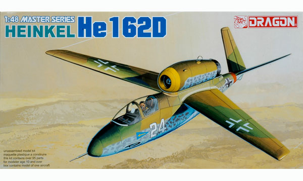 avion Dragon Heinkel He162D