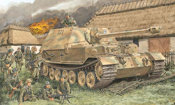 militaire Dragon Sd.Kfz.184 Elefant (2 in 1)