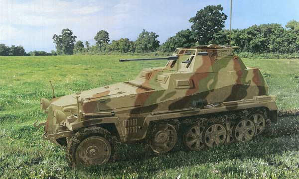 militaire Dragon Sd.Kfz.251/9
