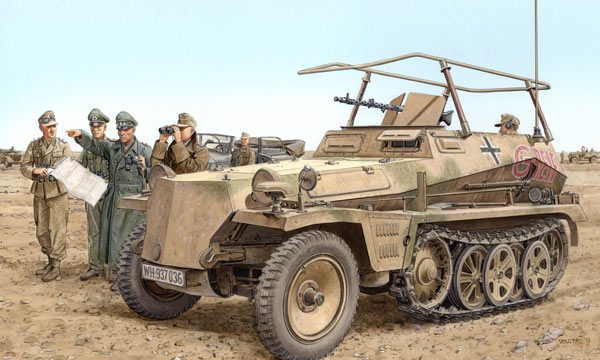 militaire Dragon Sd.Kfz.250/3 Greif 2in1