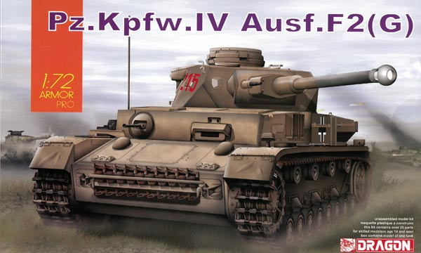 militaire Dragon Panzer IV Ausf.F2