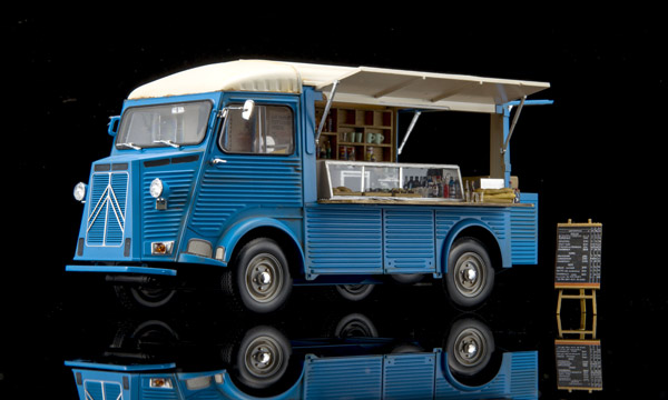 voiture Ebbro Citroën Type H Food Truck