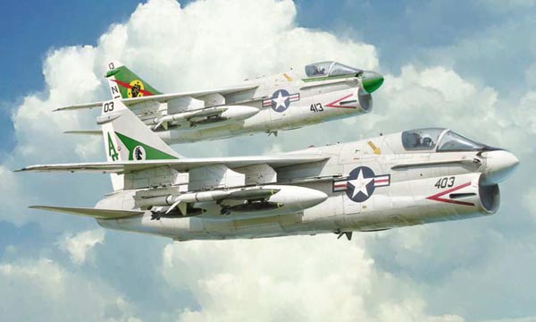 avion Italeri A-7E Corsair II