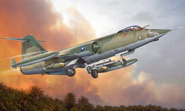 avion Italeri F-104C Starfighter