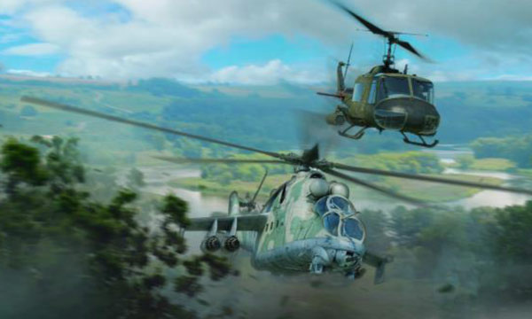 avion Italeri  MI-24D & UH-1D War Thunder