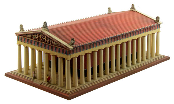 architecture Italeri Parthenon