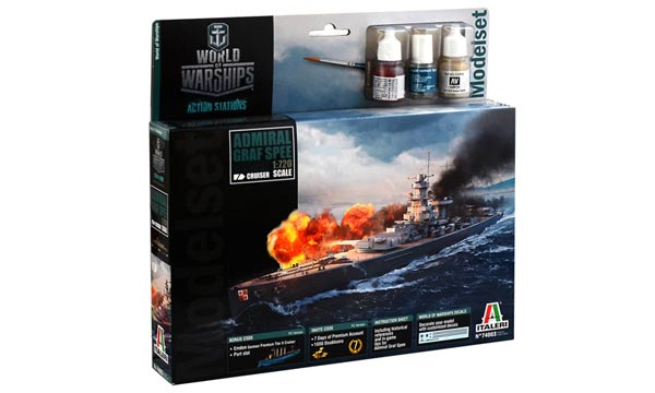 bateau Italeri Graf Spee World of Warships