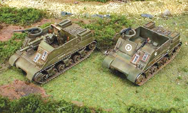militaire Italeri M7 Priest 105mm
