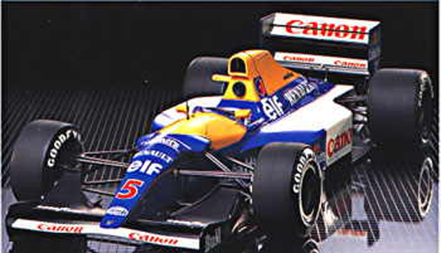 voiture Tamiya Williams FW14B Renault