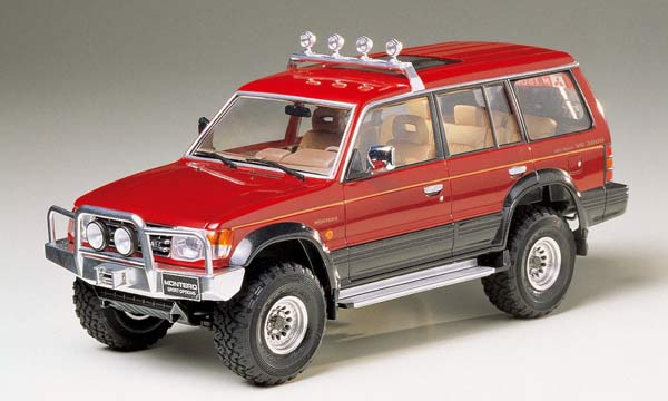 voiture Tamiya Mitsubishi Montero Sports Opt.