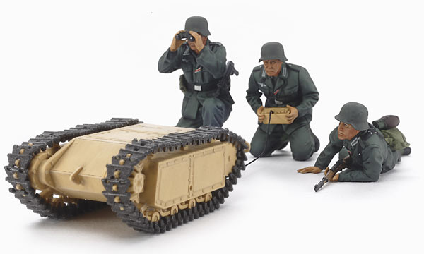 militaire Tamiya Goliath et Pionniers Allemands