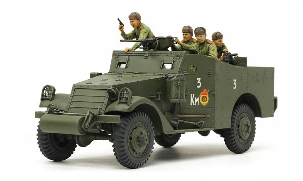 militaire Tamiya M3A1 Scout Car