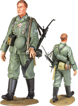 militaire Tamiya Fantassin Allemand marchant