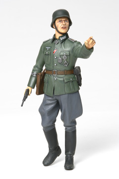 militaire Tamiya Commandant Allemand