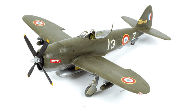 avion Tamiya P-47D Bubbletop France