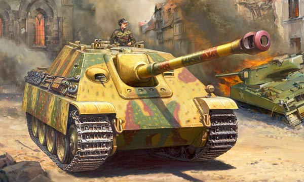 militaire Zvezda Jagdpanther