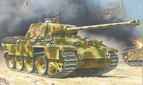 militaire Zvezda Panther Ausf.A